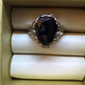 Jewelry - Black Onyx .925 Ring size 7